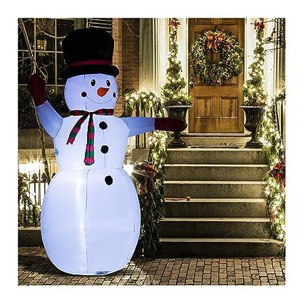 Amazon.com: Adorno hinchable de Navidad de 7.9 in, diseño de ...