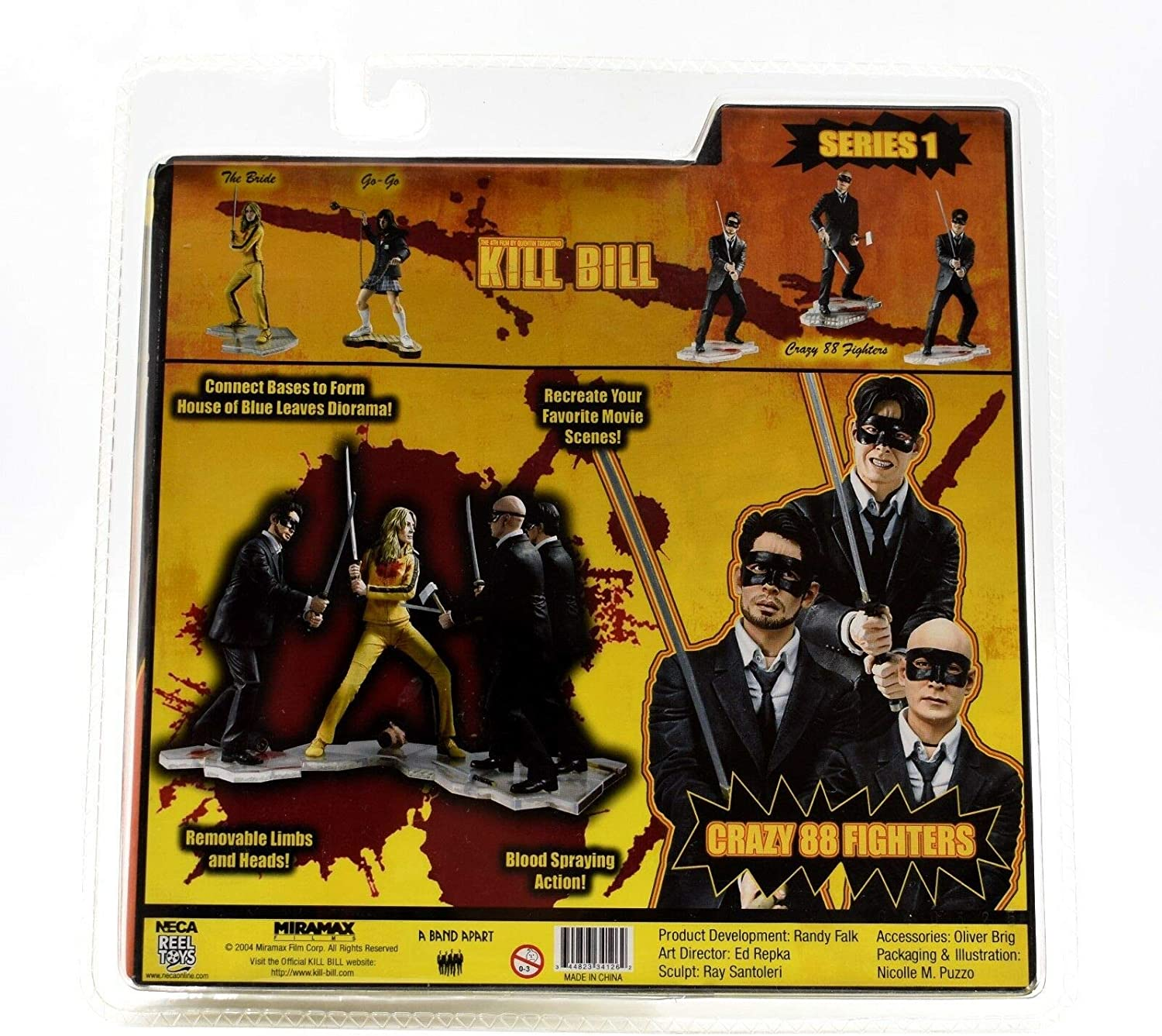 Kill Bill Crazy 88 Fighter by NECA: Amazon.es: Juguetes y juegos