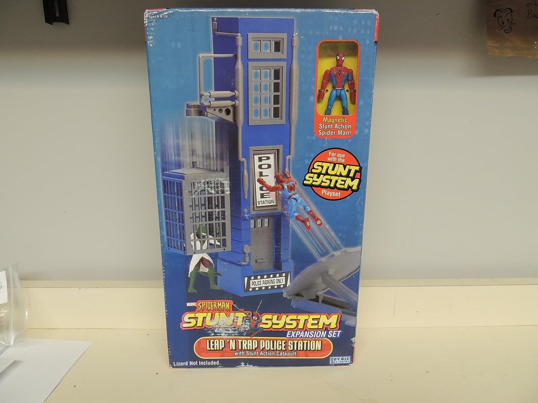 Leap N Trap Police Station Toy Biz Spider-Man Stunt System Expansion Set