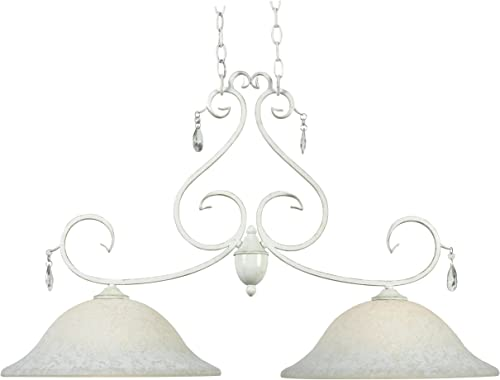 Chandeliers 6 Light with Brushed Nickel Finish Size 25 inch 360 Watts – World of Crystal