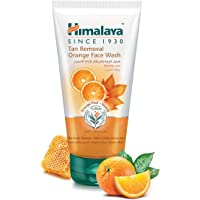 Himalaya Tan Removal Orange Face Wash 150 ml, Pack of 1