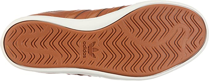 ADIDAS Baskets Homme Sneakers Plimcana Low Cuir Camel