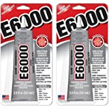 E6000 237032 Multipurpose rDTRwS Adhesive, 2 fl oz Clear (Pack of 2)