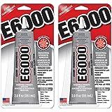 E6000 237032 Multipurpose YYmLOe Adhesive, 2 fl oz Clear (Pack of 2)