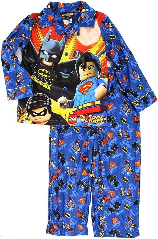 Lego DC Super Heroes Pijama de franela para niños