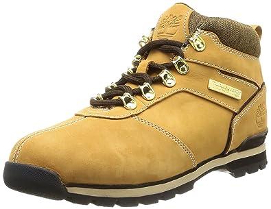 9d1ee9adfd12 Timberland Euro Hiker Ftb Splitrock 2, Men Boots, Brown (Wheat), 6.5 UK
