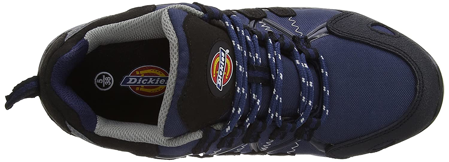 Dickies FC23530 RD 3 Tiber Safety Trainer Mesh and Microfiber Red 3 Size