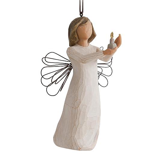 2 opinioni per Enesco 27275 Figurina Sospensione Angelo della Speranza, Resina, Willow Tree,