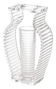 Kartell I Shine Vaso, Confezione da 1 Pezzo, Cristallo