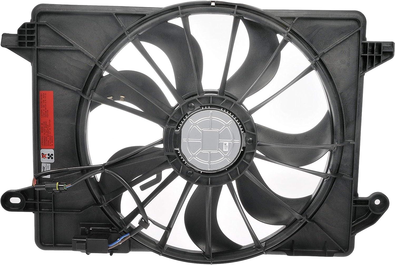 Dorman 621-526XD Engine Cooling Fan Assembly for Select Chrysler / Dodge Models, Black (OE FIX)