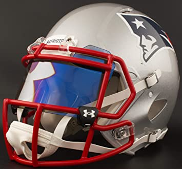 1c5d8c6ac6c3f Riddell Custom New England Patriots - Casco de fútbol (tamaño Completo)   Amazon.com.mx  Deportes y Aire Libre