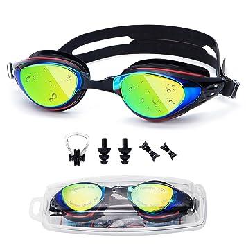 4d2961090ed UTOBEST Optical Swim Goggles Myopia Swimming Goggles No Leaking Anti Fog UV  Protection for Adult Men