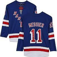 $349 » Mark Messier New York Rangers Autographed Blue Fanatics Breakaway Jersey - Fanatics Authentic Certified