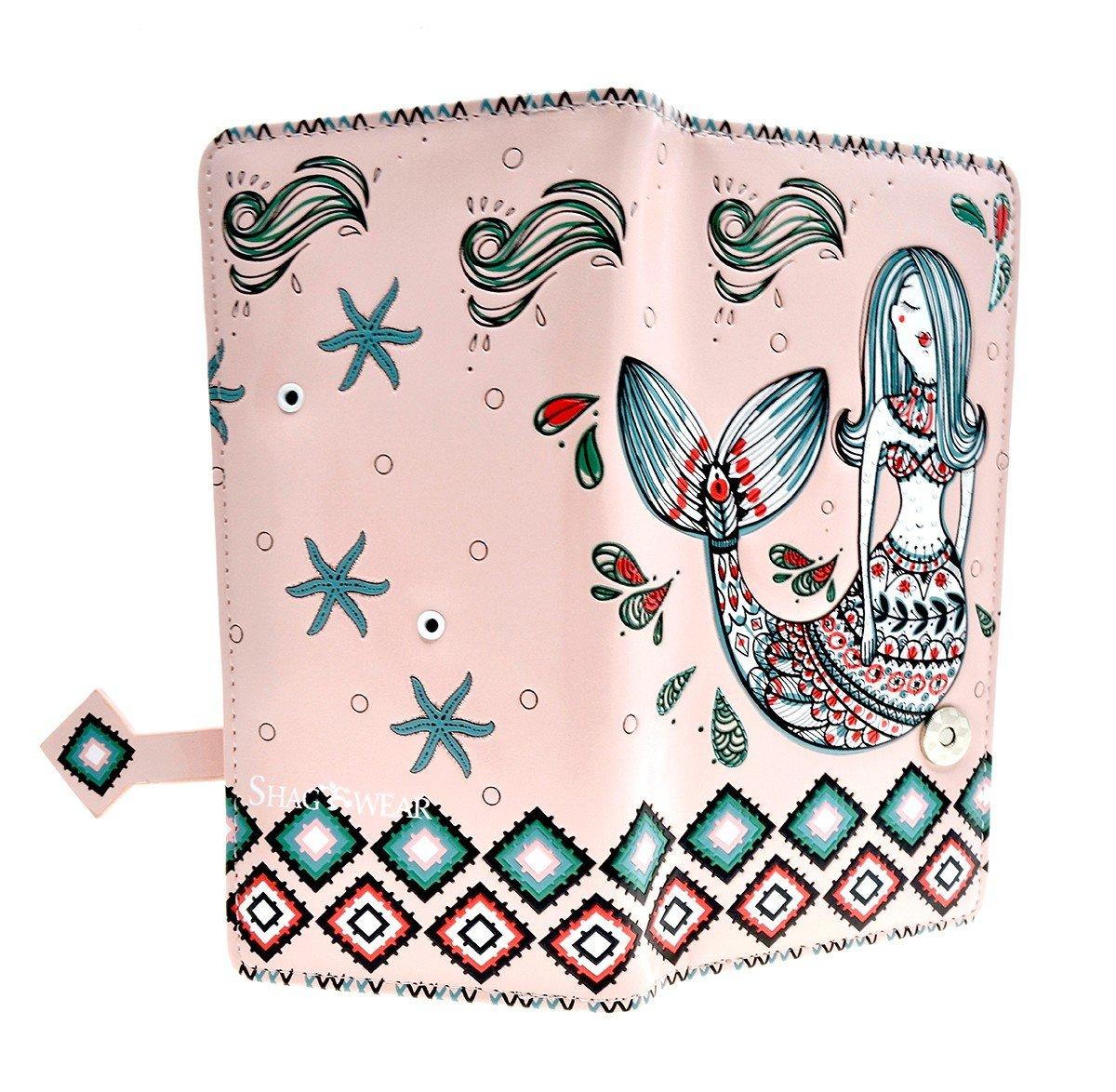 Summer Wallets (Mermaid Garden Pink)