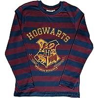 Bullahshah Harry Potter Hogwarts 4 Houses Crest Print Boys and Girls T-Shirt, Unisex Kids Long Sleeve Cotton Round Neck…