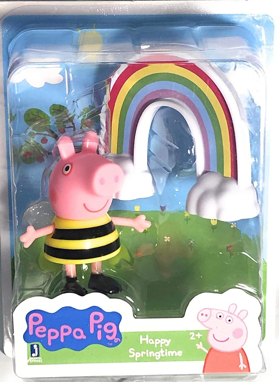 Peppa Pig Happy Springtime Rainbow Figure and Accessory