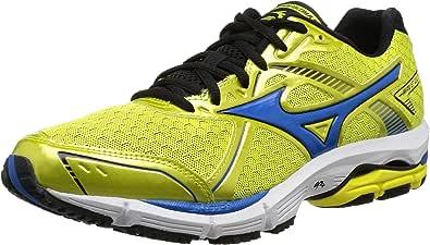 Mizuno Zapatillas Deportivas Wave Ultima 5 Amarillo/Azul EU 46 (US 12): Amazon.es: Zapatos y complementos