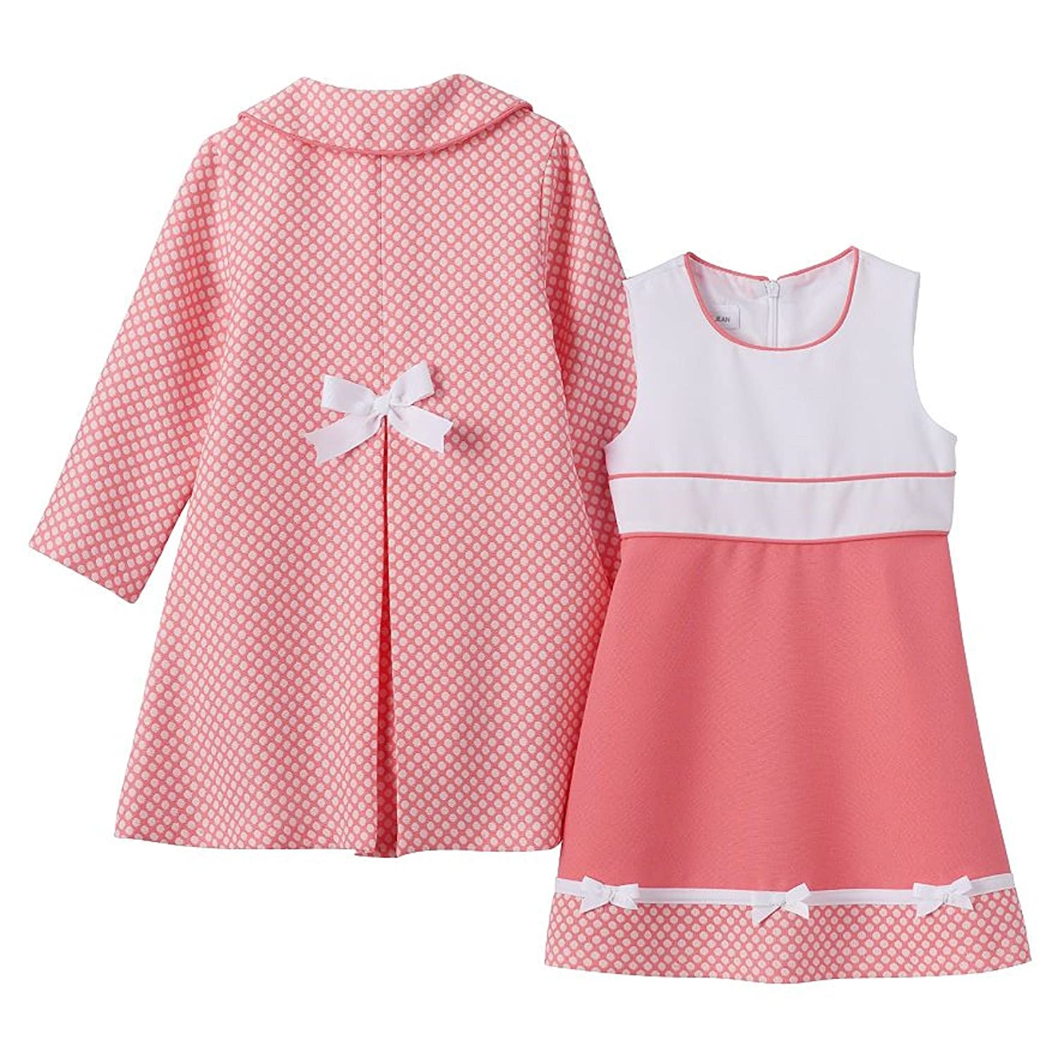 Amazon Bonnie Jean Baby Girls Houndstooth Coat and Dress Set