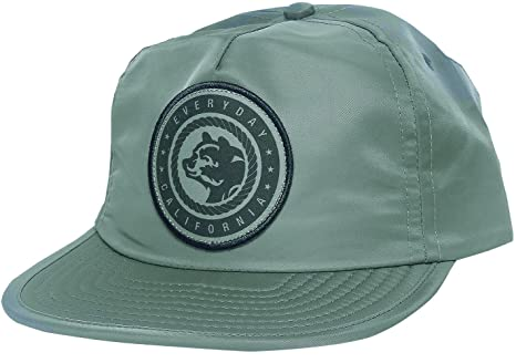 e69f281490c Amazon.com  Everyday California  Floating Waterproof Snapback  Sage ...
