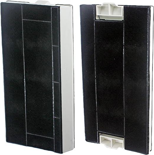Spares2go completo de carbono el olor y Filtro de grasa para Gaggenau campana extractora/extractor ventilación (Pack de 2): Amazon.es: Hogar