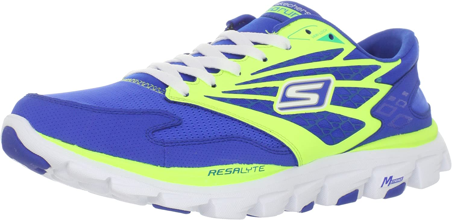 Skechers Go Run Ride, Zapatillas de Running para Niñas, Azul, 32 EUR: Amazon.es: Zapatos y complementos