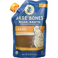 Bare Bones - Organic Bone Broth Classic Chicken 16 Fl. Oz. 179180