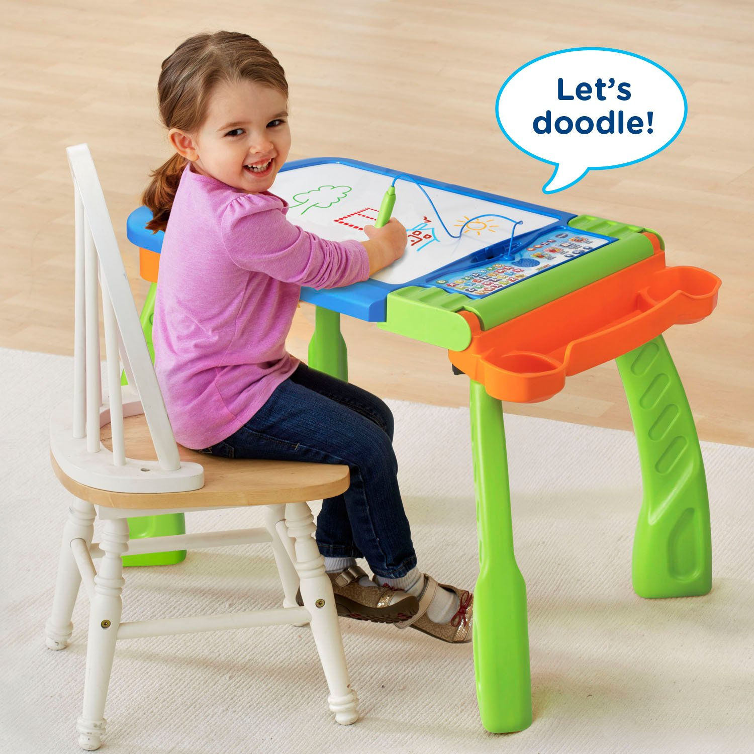 VTech DigiArt Creative Easel (Frustration Free Packaging) by VTech (Image #4)