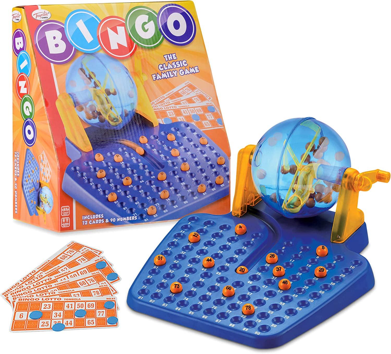 Toyrific - Bingo, para 2 o más Jugadores (Wilton Bradley TY4605) (Importado): Amazon.es: Juguetes y juegos