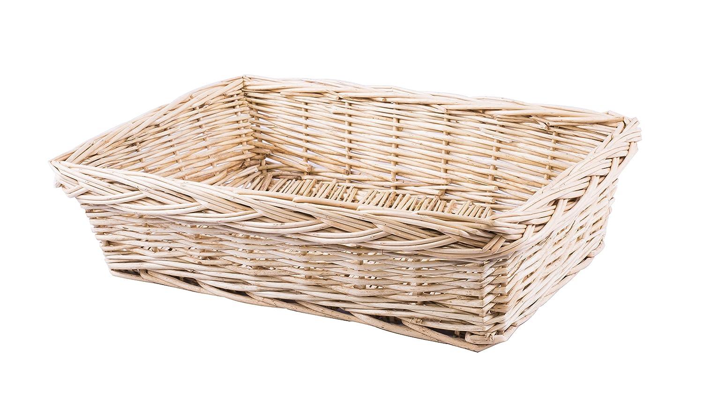 5 x Durable Wicker Hampers Bread Baskets Display Tray