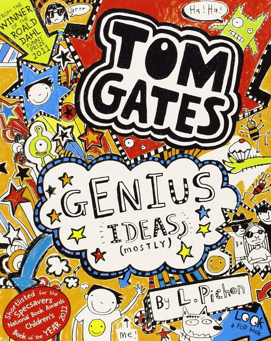 Tom Gates 4 Genius Idea (mostly)