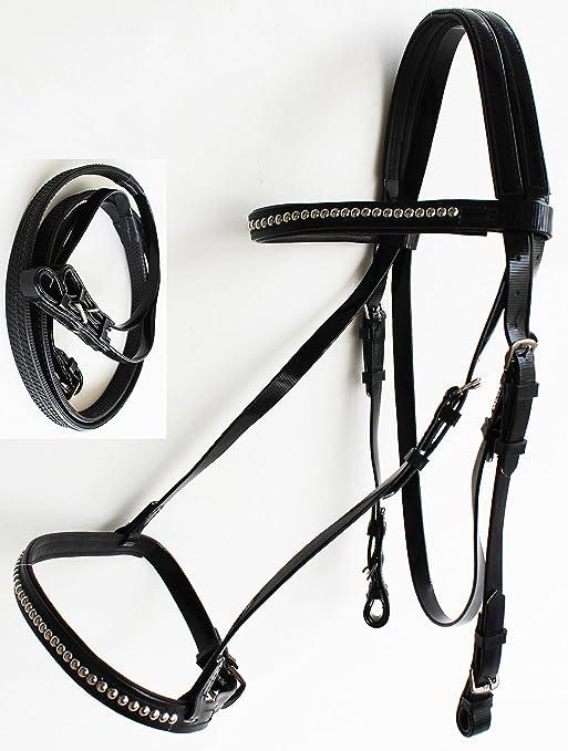Amazon Com Prorider Equine Horse Biothane English Bridle Noseband