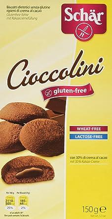 Dr. Schar Cioccolini Galletas - 150 gr