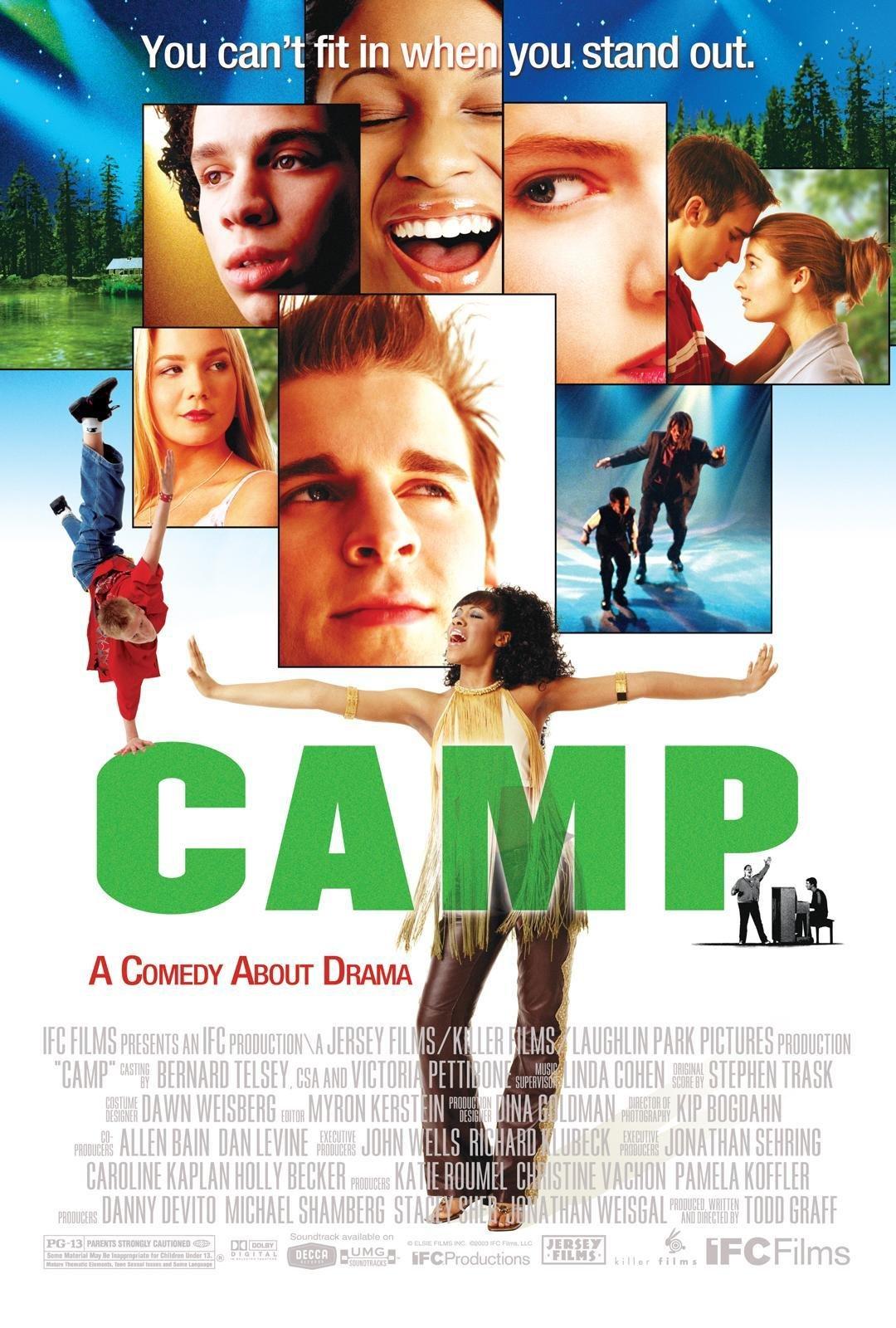 Amazon.com: Camp: Daniel Letterle, Anna Kendrick, Robin de Jesus, Joanna  Chilcoat