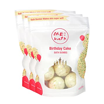 Amazon ME Bath Mini Bombs Crafted In The USA Birthday