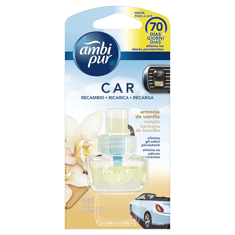 Ambi Pur Parfüm Für Auto Nachfüller Harmony Vanilla 1er Pack 1 X 7 Ml Beauty