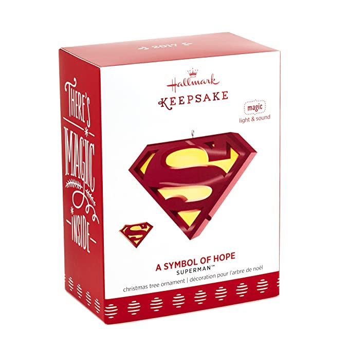 Amazon Hallmark Keepsake 2017 Superman A Symbol Of Hope Musical