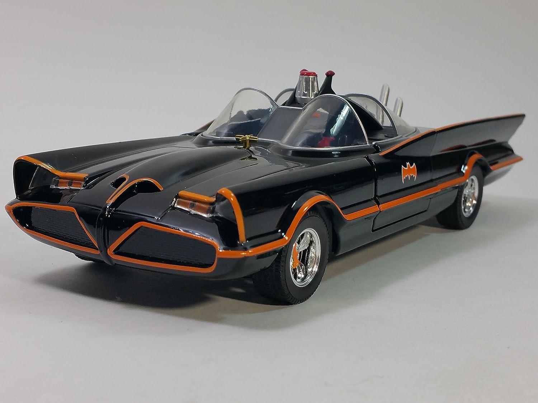 Batman Batmobile Catmobile Classic Tv Series 1966 Gold EDICOLA 1:43 BATCOL079