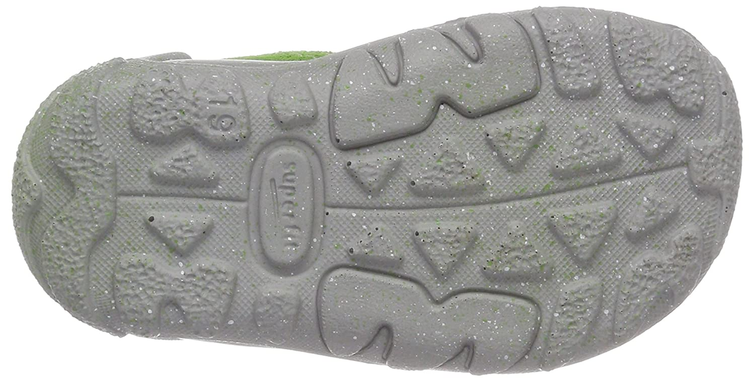 Gr/ün Kombi Superfit Baby Boys Flow Sandals 4.5 UK Gr/ün