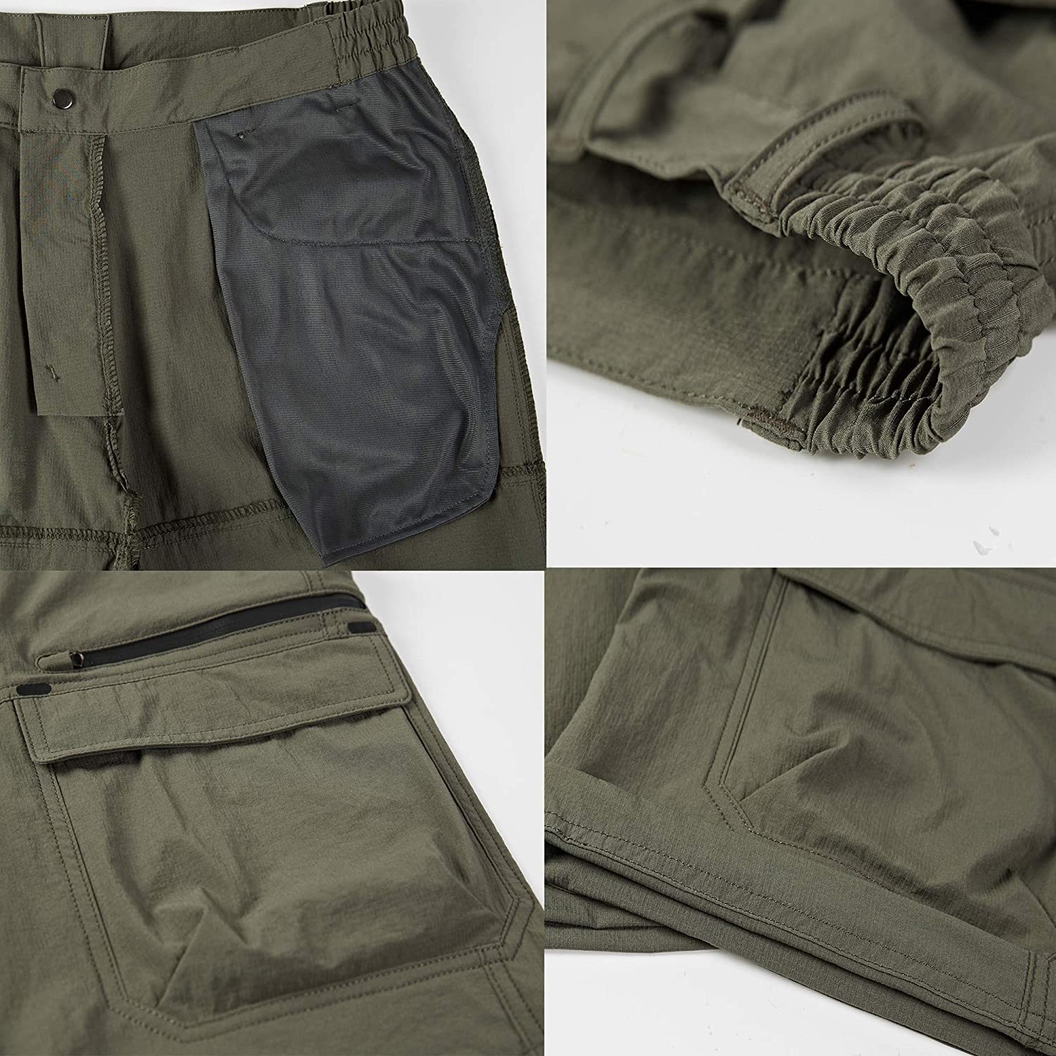 Vcansion Mens Outdoor Lightweight Quick Dry Hiking Shorts Sports Casual Shorts