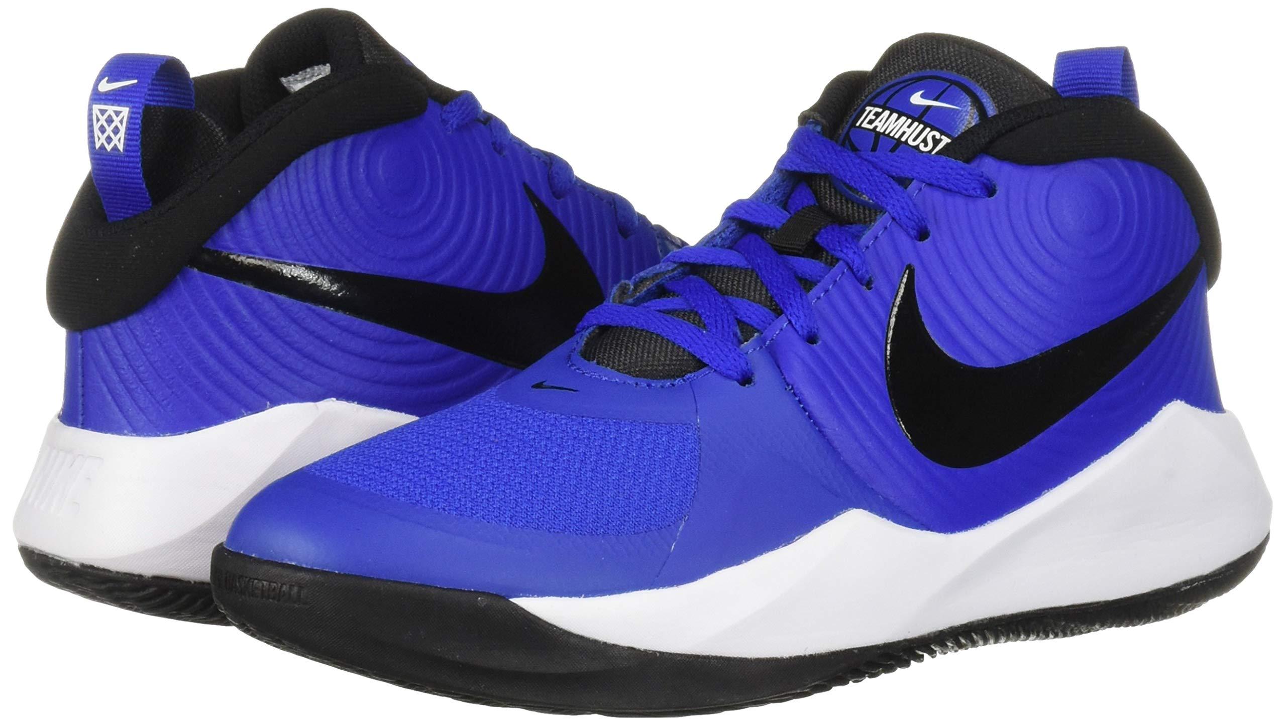Nike Unisex Team Hustle D 9 (GS) Sneaker, Game Royal/Black - White, 5Y Regular US Big Kid by Nike (Image #6)