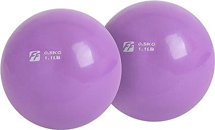 FuntionalFitness - Par de pelotas de tonificación para yoga, 2 x 0 ...