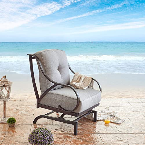Festival Depot 1pc Outdoor Patio Dining Chair