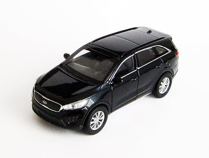 Kia Sorento Modellauto Metall Modell Auto Spielzeugauto Pkw 3 Farben Welly 40 Schwarz Küche Haushalt