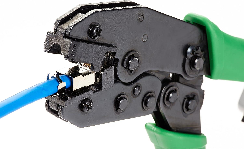 Black Box CAT6A RJ-45 Modular Plug Shielded 50-Pack