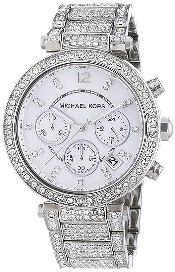 Michael Kors MK5572 - Reloj de pulsera mujer, acero inoxidable, color plateado: Michael Kors: Amazon.es: Relojes