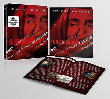 Un Lugar Tranquilo (BD Edición Especial Metal y Libreto) [Blu-ray]