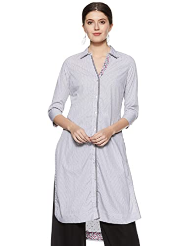 BIBA Women's Straight Kurta Women's Kurtas & Kurtis at amazon
