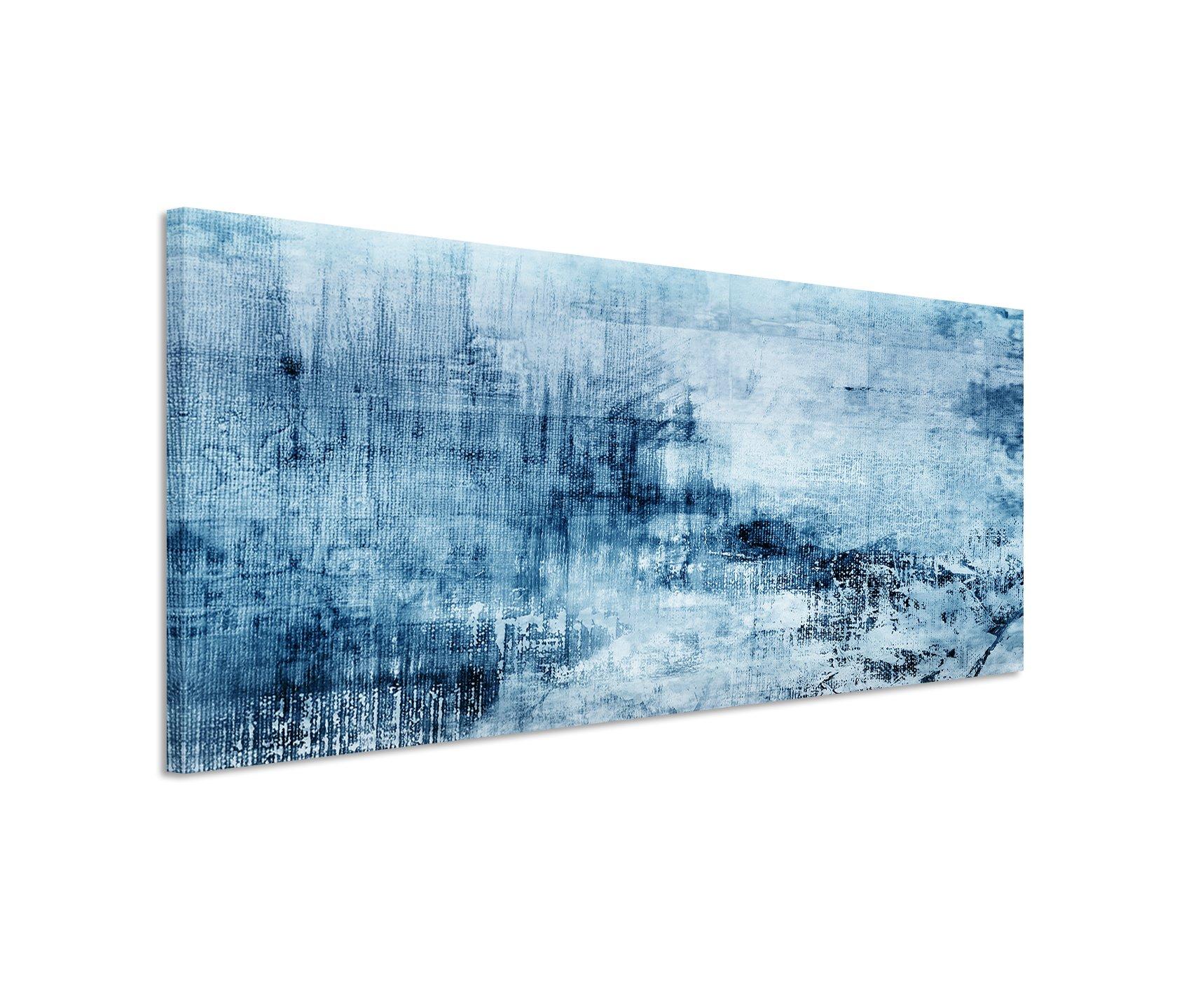 Bilder abstrakt acryl - Wandbild petrol ...