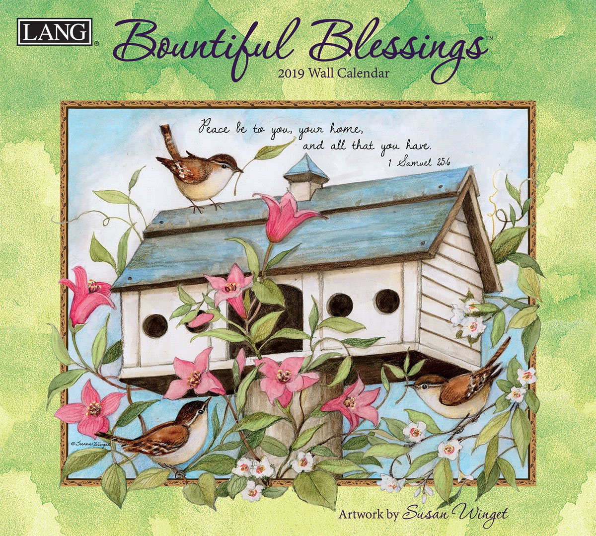 The Lang Companies Bountiful Blessings 2019 Wall Calendar (19991001897)