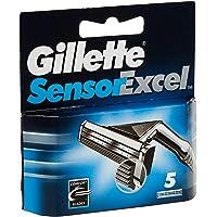 Gillette SensorExcel systeemmesjes. 5 Stuk multicolor
